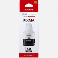 BOTELLA TINTA CANON GI-50PGBK NEGRO 135ML 6000 PAGINAS
