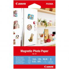 PAPEL CANON FOTO MAGNETICO MG-101 3634C002 A6 10X15  5 HOJAS