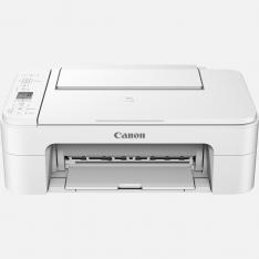 MULTIFUNCION  CANON TS3351 INYECCION COLOR PIXMA A4/ 7.7PPM/ 4800PPP/ USB/ WIFI/ BLANCO