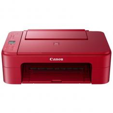 MULTIFUNCION  CANON TS3352 INYECCION COLOR PIXMA A4/ 7.7PPM/ 4800PPP/ USB/ WIFI/ RED