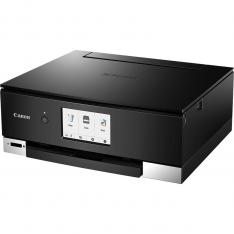 MULTIFUNCION  CANON TS8350 INYECCION COLOR PIXMA A4/ 15PPM/ 4800PPP/ USB/ WIFI/ DUPLEX IMPRESION/ NEGRO