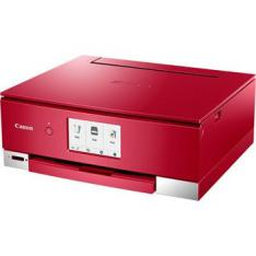 MULTIFUNCION  CANON TS8352 INYECCION COLOR PIXMA A4  15PPM  4800PPP  USB  WIFI  DUPLEX IMPRESION  ROJO