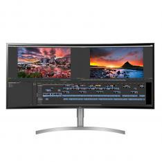 MONITOR LED IPS CURVO LG 37.5 38WK95C 21:9 5MS 3440 X 1600 HDR HDMI DISPLAY PORT USB TIPO C ALTAVOCES