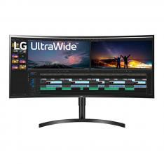 """Monitor LED IPS LG 38WN75C-B 38"""" 21:9 Curvo 3840 x 1600 5Ms HDMI Display Port Reg. Altura"""