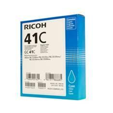 CARTUCHO GEL RICOH GC-41C CIAN (2500 pag)