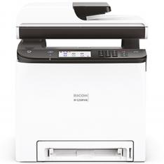 MULTIFUNCION RICOH LASER COLOR M C250FWB FAX/ A4/ 25PPM/ 256MB/ USB/ RED/ WIFI/ ADF 50 HOJAS/ DUPLEX IMPRESION