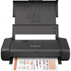 IMPRESORA CANON TR150 INYECCION COLOR PORTATIL PIXMA A4/ 9PPM/ 4800PPP/ USB/ WIFI/ BATERIA