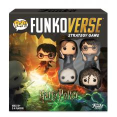 JUEGO DE MESA FUNKOVERSE HARRY POTTER EDICION 100 LORD VOLDEMORT BELLATRIX HARRY POTTER & HERMIONE 43478