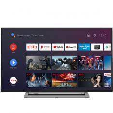 "TV TOSHIBA 43"" LED 4K UHD/ 43UA3A63DG/ ANDROID/ WIFI/ HDR10/ DOLBY VISION/  HD DVB-T2/C/S2/ HDMI/ USB/"