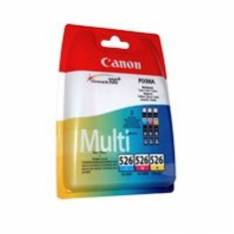 MULTIPACK CANON CLI-526  C/M/A/BK + PAPEL FOTO