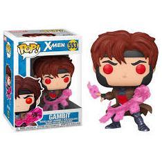 Funko Pop Marvel X-Men Gambit con Cartas 46769