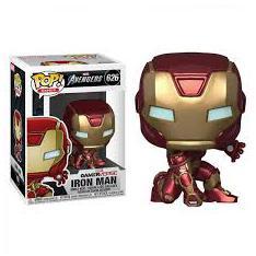 Funko Pop Marvel Vengadores Videojuego Iron Man Traje Stark Tech 47756
