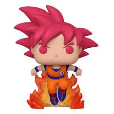 Funko Pop Dragon Ball Z Goku Super Saiyan God Exclusivo Convencion Verano 2020