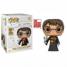 FUNKO POP HARRY POTTER HARRY POTTER CON HEDWIG 18""