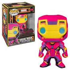 FUNKO POP MARVEL BLACK LIGHT IRONMAN MULTICOLOR 48846