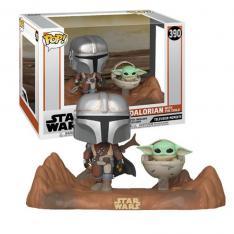 Funko Pop Star Wars The Mandalorian The Mandalorian & Baby Yoda