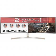 "MONITOR LED LG CURVO 49WL95C-W 49"" DUAL QHD 5120 X 1440 5MS HDMI DISPLAY PORT USB-C ALTAVOCES"