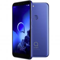 """TELEFONO MOVIL SMARTPHONE ALCATEL 1S AZUL/ 5.5"""" / OCTA CORE / 32GB ROM / 3GB RAM / 13 + 2 MP - 5 MP / 4G / DUAL SIM / LECTOR HUELLA"""