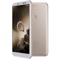 "TELEFONO MOVIL SMARTPHONE ALCATEL 1S GOLD / 5.5"" / OCTA CORE / 32GB ROM / 3GB RAM / 13 + 2 MP - 5 MP / 4G / DUAL SIM / LECTOR HUELLA"