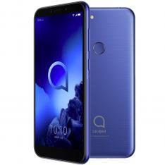 """TELEFONO MOVIL SMARTPHONE ALCATEL 1S AZUL / 5.5"""" / OCTA CORE / 64GB ROM / 4GB RAM / 13 + 2 MP - 5 MP / 4G / DUAL SIM / LECTOR HUELLA"""