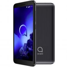 "TELEFONO MOVIL SMARTPHONE ALCATEL 1 NEGRO / 5"" / QUAD CORE / 8GB ROM / 1GB RAM / 8 MP - 5 MP/ 4G / DUAL SIM"