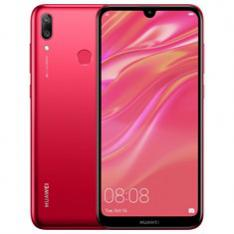 TELEFONO MOVIL SMARTPHONE HUAWEI Y7 2019 ROJO   6.26  32GB ROM  3GB RAM  13+2 MPX AI - 8 MPX  OCTA CORE  4000 MAH  HUELLA  DESBLOQUEO FACIAL