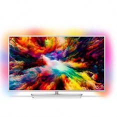 "TV PHILIPS 55"" LED 4K UHD/ 55PUS7363 (2018)/ HDR PLUS / AMBILIGHT X3/ QUAD CORE/ ULTRAPLANO/ SMART TV/ 4 HDMI/ 2 USB/ DVB-T/T2/T2-HD/C/S/S2/ SATELITE/ WIFI/ ANDROID TV PROCESADOR P5"