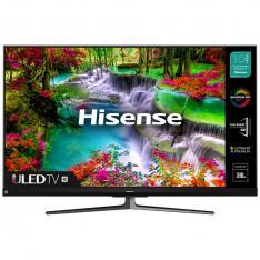 "TV HISENSE 55"" ULED 4K UHD/ 55U8QF/ HDR10+/ SMART TV/ 4 HDMI/ 2 USB/ DVB-T2/T/C/S2/S/ QUAD CORE"