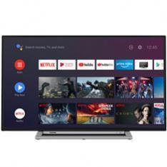 "TV TOSHIBA 55"" LED 4K UHD/ 55UA3A63DG/ ANDROID/ WIFI/ HDR10/  HD DVB-T2/C/S2/ BLUETOOTH/ DOLBY VISION HDR/"