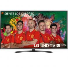 "TV LG 55"" LED 4K UHD/ 55UK6470PLC/ HDR/ 20W/ DVB-T2/C/S2/ SMART TV/ HDMI/ USB"
