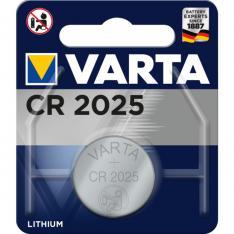 BLISTER PILAS VARTA LITIO BOTON CR-2025 3V 170MAH