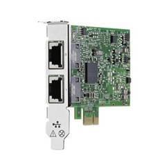 TARJETA DE RED HPE 332T/ 2 PUERTOS GIGABIT/ PCI EXPRESS X1/ ETHERNET PARA SERVIDOR HP PROLIANT