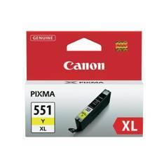 CARTUCHO TINTA CANON CLI 551 XL AMARILLO MG6350   MG5450