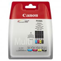 MULTIPACK CANON CLI-551 C/M/Y/BK