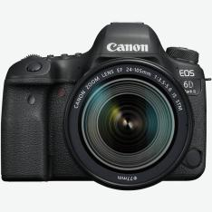 CAMARA DIGITAL REFLEX CANON EOS 6D MARK II + 24-105STM/ CMOS/ 26.2MP/ DIGIC 7/ 45 PUNTOS DE ENFOQUE/ WIFI/ BLUETOOTH/ GPS/ NFC