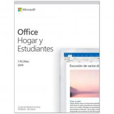 MICROSOFT OFFICE 2019 HOGAR Y ESTUDIANTES 1PC/MAC