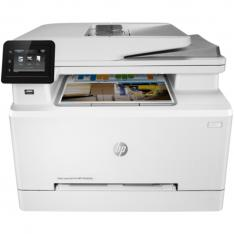 MULTIFUNCION HP LASER COLOR LASERJET PRO M283FDN FAX  A4  21PPM  256MB  USB  RED  DUPLEX IMPRESION