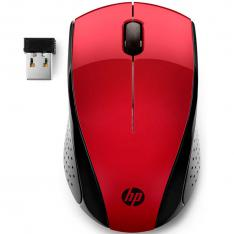 MOUSE RATON HP OPTICO WIRELESS INALAMBRICO 220 ROJO