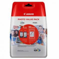 MULTIPACK CANON PG 545 XL+ CL 546 XL + PAPEL 50 HOJAS