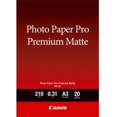 PAPEL FOTOGRAFICO CANON PREMIUM MATTE TINTA IIMPRESION/ A3/ 297X420MM/ 20 HOJAS