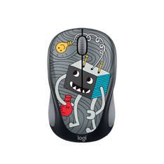 MOUSE RATON LOGITECH M238 OPTICO WIRELESS DOODLE COLLECTION LIGHTBULB