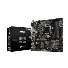 PLACA BASE MSI INTEL B360M PRO-VDH SOCKET 1151 DDR4X4 MAX 64GB 2666MHZ VGA HDMI DVI-D MATX