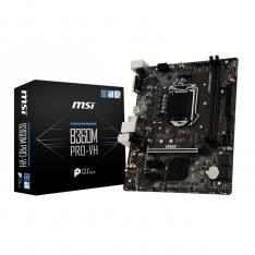 PLACA BASE MSI INTEL B360M PRO-VH SOCKET 1151 DDR4X2 MAX 32GB 2666MHZ VGA DVI-D mATX