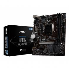 PLACA BASE MSI INTEL H310M PRO-VD PLUS SOCKET 1151 DDR4X2 2666MHZ MAX 32GB D-SUB DVD-D MICRO ATX