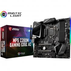 PLACA BASE MSI INTEL MPG Z390 GAMING EDGE AC SOCKET 1151 DDR4X4 MAX 64GB 4500MHZ HDMI DISPLAY PORT MICRO ATX