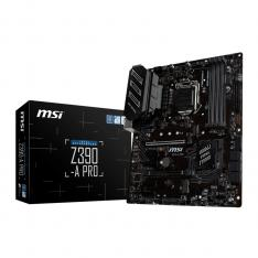 PLACA BASE MSI INTEL Z390-A PRO SOCKET 1151 DDR4X4 MAX 64GB 4400MHZ VGA DVI-D DISPLAY PORT  ATX