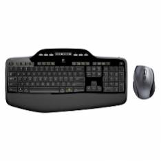 TECLADO + MOUSE LOGITECH MK710 OPTICO WIRELESS INALAMBRICO USB 2.0 NEGRO 24 GHZ