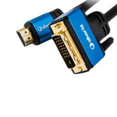 CABLE SILVER HT HIGH END HDMI - DVI/ MACHO-MACHO/ 1.5M/ NEGRO