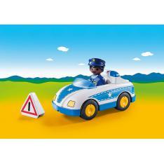 PLAYMOBIL 1.2.3 COCHE DE POLICIA