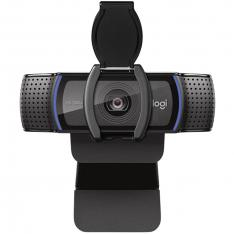 WEBCAM LOGITECH C920S 1080P/30FPS CON TAPA DE SEGURIDAD